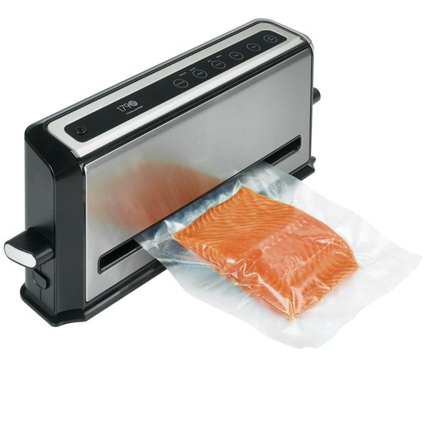 Just press the button and out comes a piece of fresh salmon
