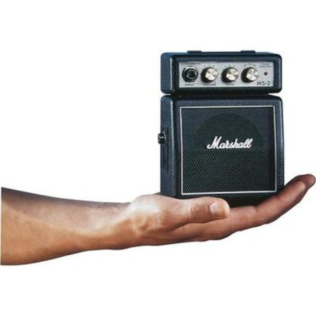 This micro guitar amplifier will sort of rock you