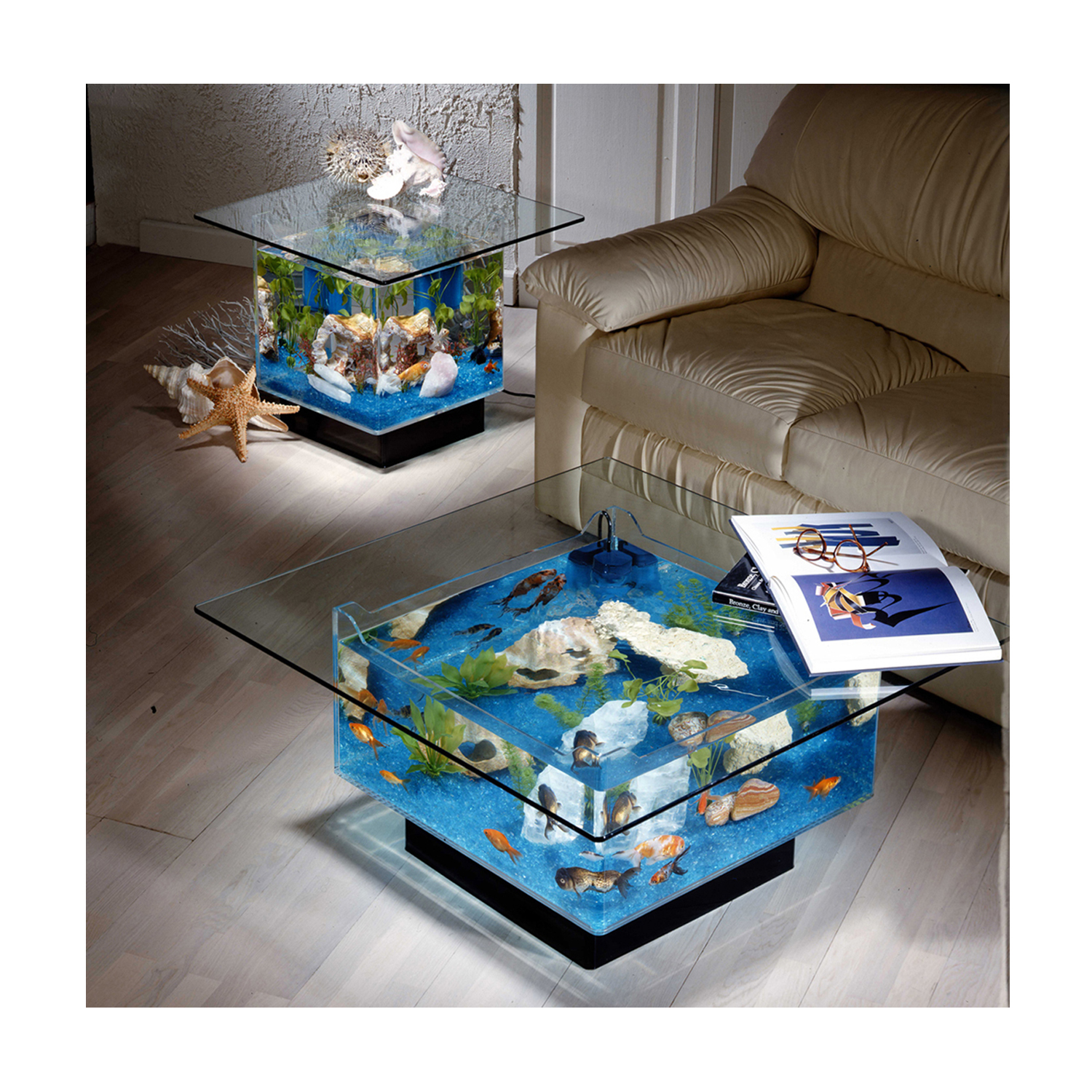 - AQUARIUM COFFEE TABLE - Didn't Know I Wanted That