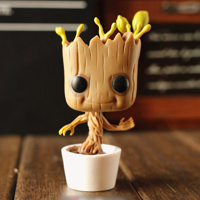 Guardians of the Galaxy Dancing Groot Bobble Action Figure Funko POP Marvel