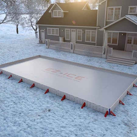 Do it yourself backyard ice skating rink