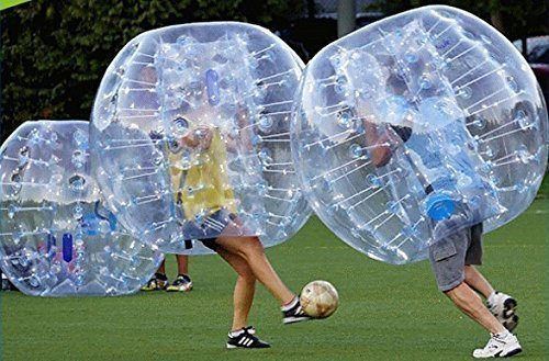 large inflatable bumper bubble ball that you get inside of