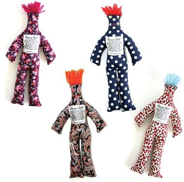 Stress reliever dolls that you whack against the wall to relieve stress