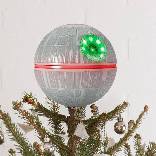star wars death star christmas tree topper - DEATH STAR TREE TOPPER - Didn't Know I Wanted That