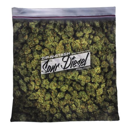 pillow case that looks like a giant bag of weed