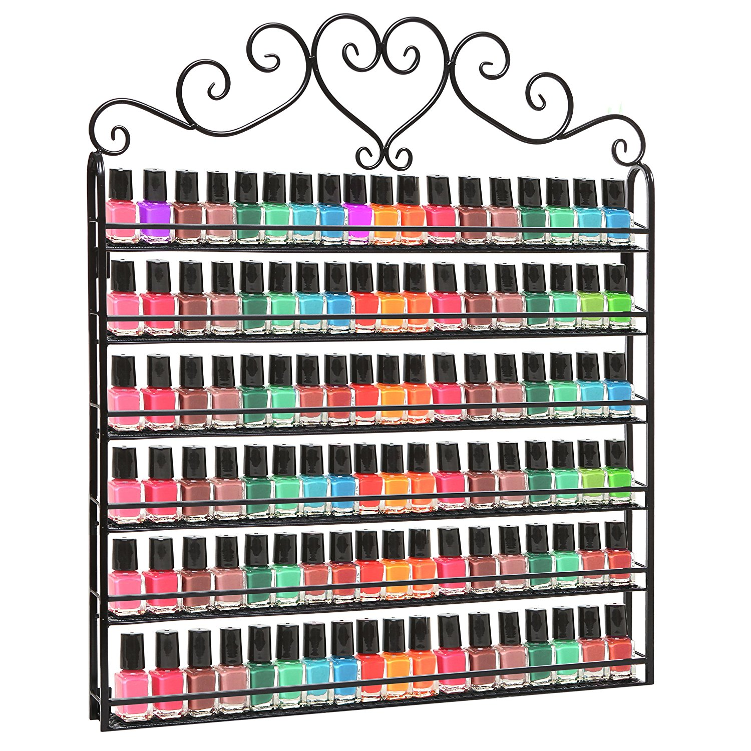 Nail Polish Organizer That Holds Over 100 Bottles Of