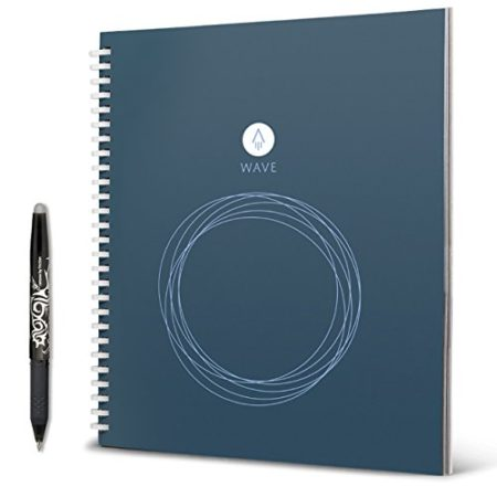smart notebook that automatically uploads your notes to the cloud and can be erased by microwaving it
