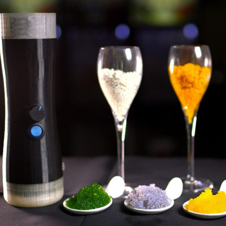 kitchen gadget that turns any food into caviar-like pearls