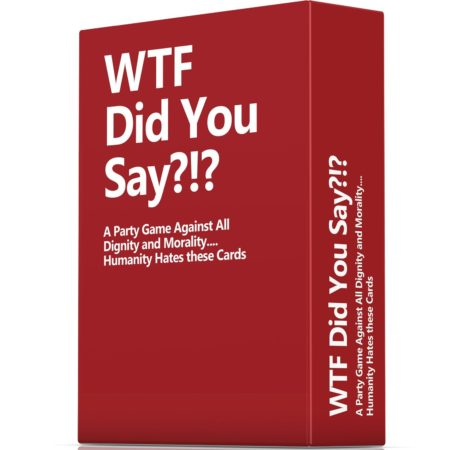 """a party game similar to """"cards against humanity"""" against all humanity and dignity"""
