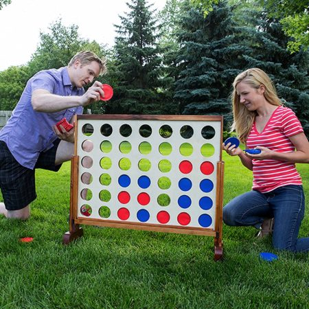 oversized game of connect four