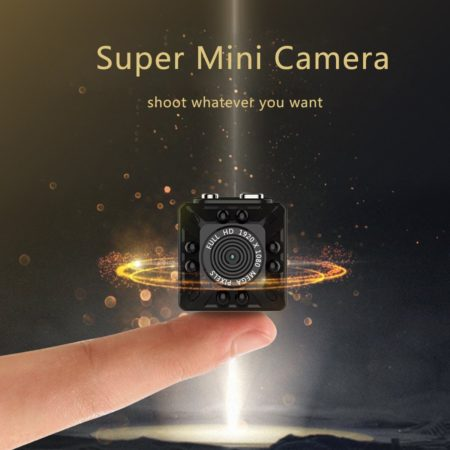 tiny camera with high definition photo and video capacity