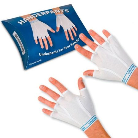 funny gag gift with underwear shaped gloves