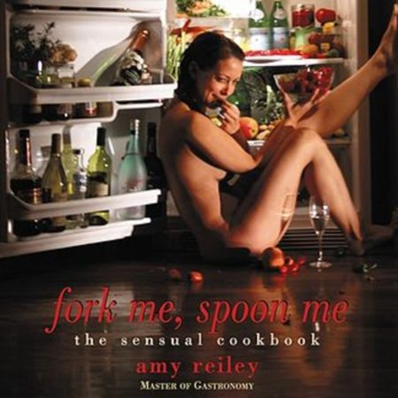 Cookbook with recipes of sensual foods
