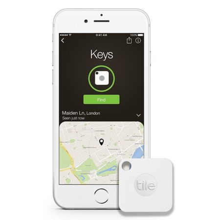 bluetooth keychain accessory that helps you find your keys