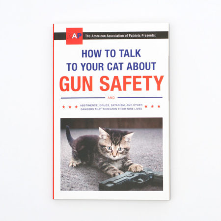 funny book about how to talk to your cat about gun safety