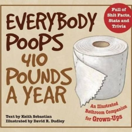 funny toilet humor book about poop facts