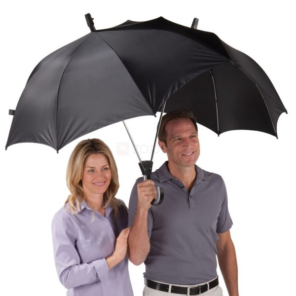 umbrella that covers two people at once