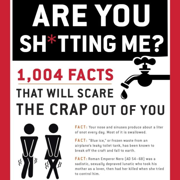 Funny book with unique and scary facts