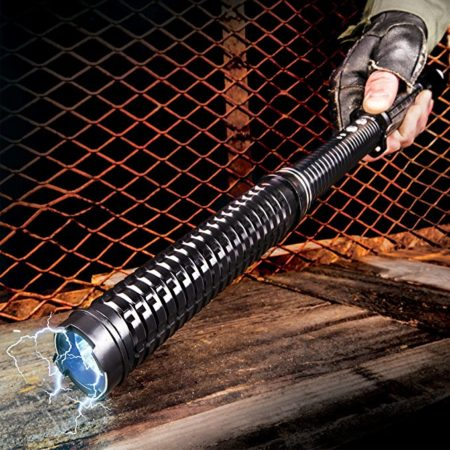flashlight that also acts as a stun gun with 5 million volts