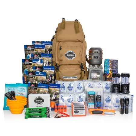 emergency survival bag and kit that has everything you and your family need to survive an emergency