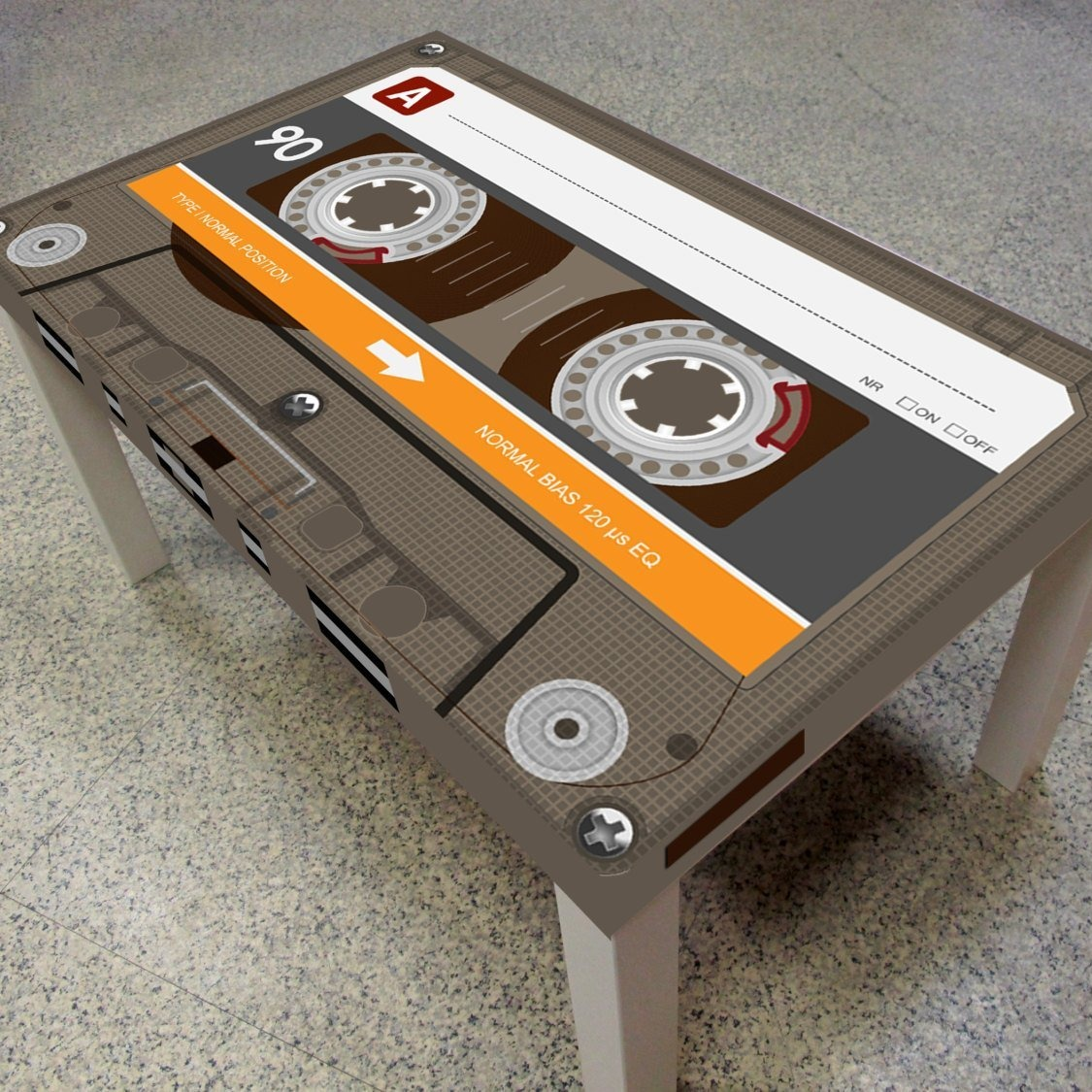 Cassette Tape Coffee Table Didn T Know I Wanted That