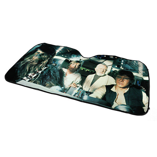 star wars car shade to protect your car interior from the sun