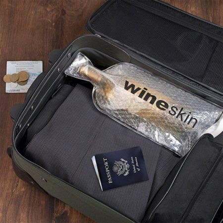 protective cover for wine bottle for safety of packing in suitcase for travel
